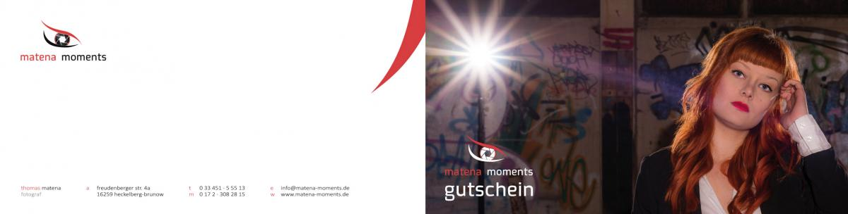 matena moments / gutschein